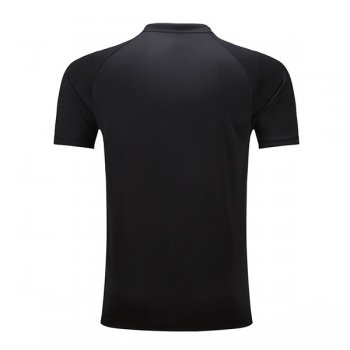 China Dragon Stlyle Table Tennis Training Uniforms Shirt Black